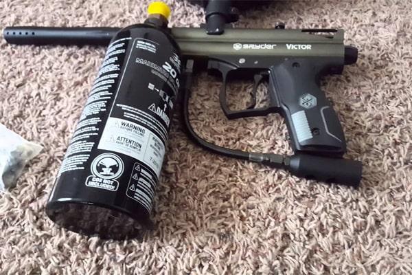 how to clean a paintball gun 1