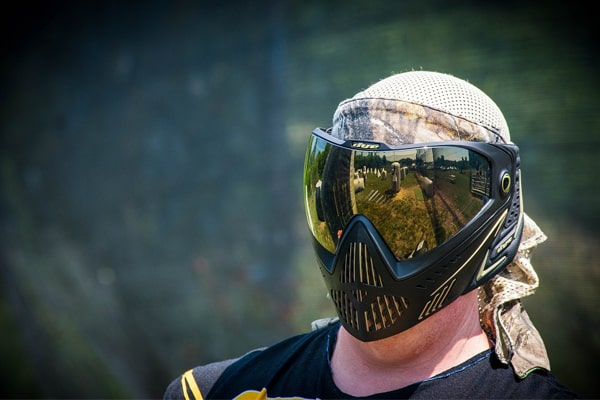 how to clean paintball mask 1